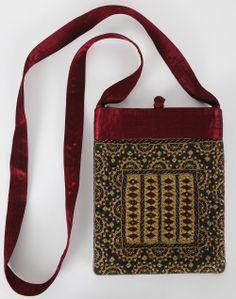 Fabindia.com   Silk Embroidery Sling Bag