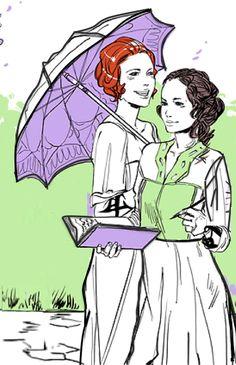 Lucie & Cordelia - Parabatai