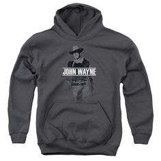 John Wayne - Fade Off Youth Pull-Over Hoodie