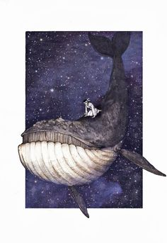 The Lonely Whale's Cry for Love by techgnotic on DeviantArt