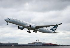 Noul Airbus A350-1000 Cathay Pacific va fi alimentat cu biocombustibil pe zborul spre Hong Kong