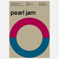 Pearl Jam, 1991 17x23.75 now featured on Fab.
