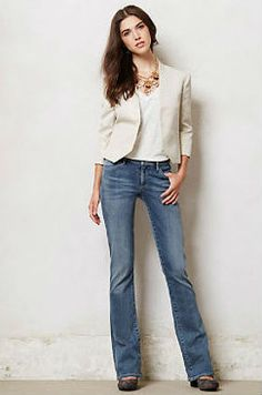 Cute ways to wear bootcut jeans