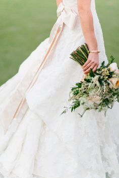 This stunning gown: http://www.stylemepretty.com/little-black-book-blog/2015/03/05/rustic-elegance-in-mission-viejo/ | Photography: Jacqueline Campbell - http://www.jacquelinecampbellphotography.com/