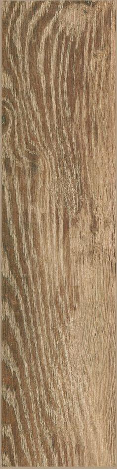 """Stonepeak Natural Timber Cinnamon 6"""" x 24"""" Wood Grain Porcelain Tile #tile"""