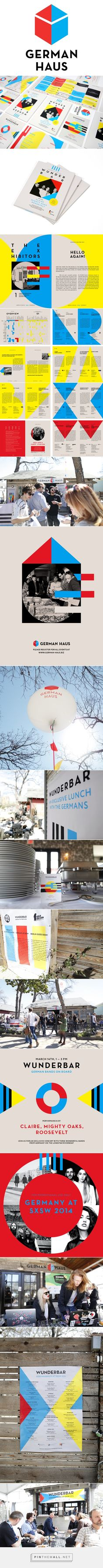 SXSW 2014. German Haus. on Behance - created via http://pinthemall.net