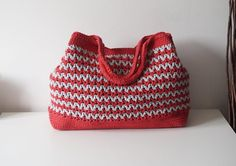 (4) Name: 'Crocheting : Seamless Crochet Bag