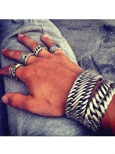 Sterling Silver Bracelets Yaf Sparkle Jewelry Boutique - Buddha to Buddha Sterling Silver Jewelry Cleaning Silver Jewelry, Clean Gold Jewelry, Gold Jewellery, Copper Jewelry, Mens Silver Jewelry, Simple Jewelry, Dainty Jewelry, Opal Jewelry, Copper Wire