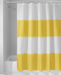 "Interdesign Zeno Stripe 72"" x 72"" Shower Curtain - Shower Curtains - Bed & Bath - Macy's"