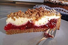 Zwetschgen – Käse – Kuchen Plum – cheese – cake, a great recipe from the category baking. Cupcake Recipes, Baking Recipes, Snack Recipes, Snacks, Cheesecake Recipes, Gateaux Cake, Fall Desserts, Sweet Cakes, Ice Cream Recipes