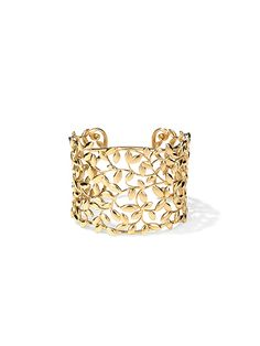 Manolo Blahnik: 10 Beautiful things—Tiffany & Co. gold cuff by Paloma Picasso