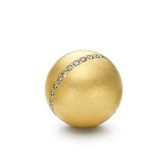 Niessing - Gold & Diamond Lumen Sphere Pendant - ORRO Contemporary Jewellery Glasgow