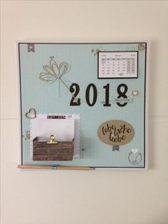 Stampin Up Memoboard
