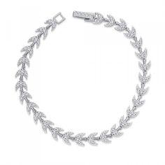 Peora | Palash - Rhodium Plated - Bangles and Bracelets - Women's Jewellery - Jewellery | Fine Silver Jewellery