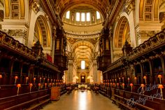 Interior of St Paul's Cathedral - London, United Kingdom