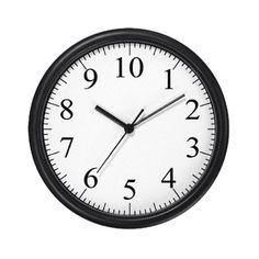 Cafe Press Decimal Clock