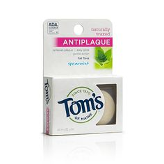 Antiplaque Flat Floss (Spearmint)