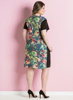 Gostei deste produto do Portal Posthaus! Vestido Tubinho Plus Size