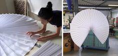BCXSY Holanda, gráfica y origami para diseñar espacios. Pavo de Boaz Cohen y Sayaka Yamamoto | Experimenta Revista de Diseño Industrial | Experimenta