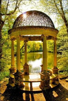 Temple of Love - Old Westbury Gardens by Tuatha