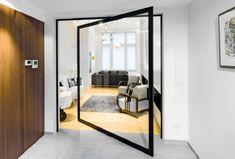 Obrotowe drzwi wewnętrzne   Idea Domu