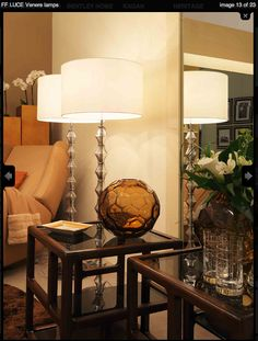 Fendi Casa - Venere Lamps