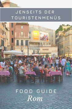 Essen & Trinken in Rom - Jenseits der Touristenmenüs. Hier findet Ihr Food-Tipps - falls der kleine Hunger rund um Kolosseum, Petersdom & Co. kommt.