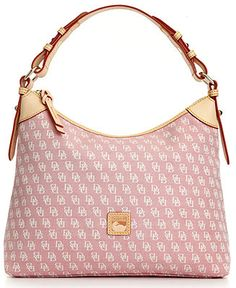 f419011d118d3 Dooney & Bourke Signature Hobo - Dooney & Bourke - Handbags & Accessories -  Macy's Torby