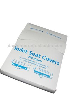 1/4 fold disposable toilet seat paper cover $14~$21