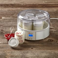 greek yogurt maker.