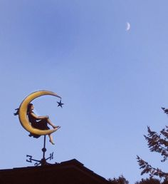 Moon Goddess Weathervane