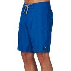 b98fe6fb45b598 Vans Board Shorts - Vans Classic Solid Board Shorts - Classic Blue Vans  Classic