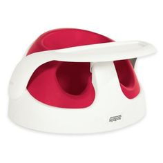 See more detail about Mamas & Papas Baby Snug Booster with Tray in Red..