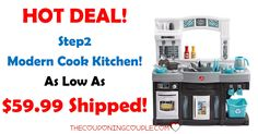 WHAT A DEAL! The Step2 Modern Cook Kitchen for as low as $59.99 shipped! The kids will love it! (reg $129.99)  Click the link below to get all of the details ► http://www.thecouponingcouple.com/step2-modern-cook-kitchen/ #Coupons #Couponing #CouponCommunity  Visit us at http://www.thecouponingcouple.com for more great posts!