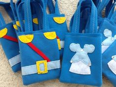 Cinderella and Prince Charming Party bags Set of by BellisimaSofia, $35.00