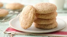 Make a lighter snickerdoodle so you can enjoy more of the rich cinnamon-sugar taste you love.