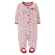 Just One You™Made by Carter's® Newborn Girls' Heart Print Sleep N' Play #hearts