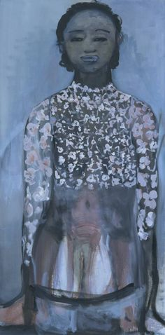 Image detail for -Marlene Dumas, 'Ivory Black' 1997
