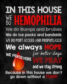 Custom canvas print I created for our home with my FAVORITE little guy in mind! ❤️ #hemophilia #hemohero #hemostrong