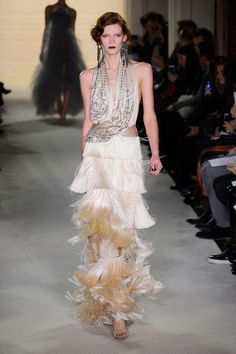 Marchesa at New York Fashion Week Fall 2015 - Runway Photos