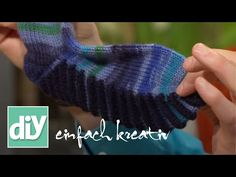 Socken stricken 4 * Maschenaufnahme Mittelfuß - Anleitung - mit Christine - YouTube