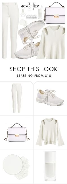 """All White"" by fattie-zara ❤ liked on Polyvore featuring Joseph, ittse and Oribe"