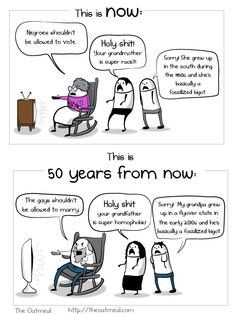 Wrong side of history in both eras.  #LGBT #LDS