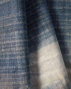 Handwoven antique hemp / cotton from Thailand by ThaiTextileShop