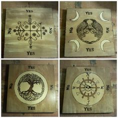 Yes/No Pendulum Boards