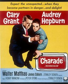 Audrey Hepburn movie  with Cary Grant what's not to love!! One of my favs!!