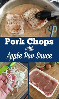 A gluten-free, grown up version of a classic: pork chops with apple sauce. This Apple Pan Sauce is made with hard cider for a kick! | www.PopularPaleo.com #paleo #paleodiet #paleorecipes #glutenfree