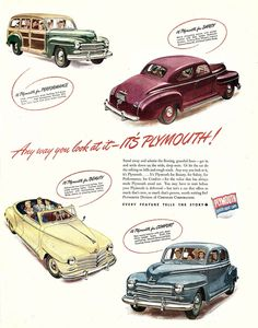 1946 Plymouth Brochure