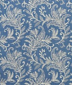 Swavelle / Mill Creek Pargo/Cliffside Atlantic FabricI   I WANT this embroidered LINEN for 21.30!!!!