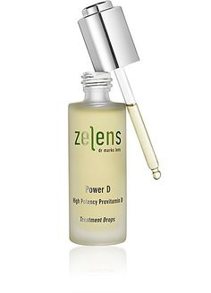 Zelens Power D Treatment//Caroline 'Supercharged and vitamin-rich, this treatment serum is potent and deeply penetrative – delivering high concentrations of age-defying nutrients to your skin's lowest levels.' A hugely fortifying serum/oil.  Who is it for? Everyone, but especially those with compromised/ageing/exposed/sore/extreme skin..I've used this since they launched in March, but more importantly, I've used it on clients the entire time I've been doing facials and the results are…
